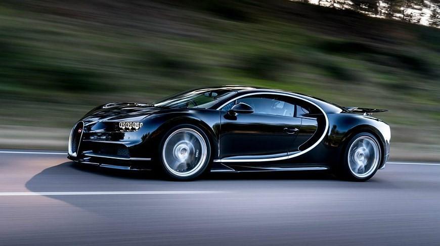 bugatti chiron noire uni 2016 looksmart ls1206c - miniatures