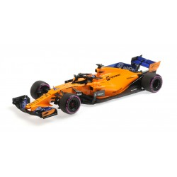 McLaren Renault MCL33 F1 Essais Abu Dhabi 2018 Lando Norris Minichamps 537183904