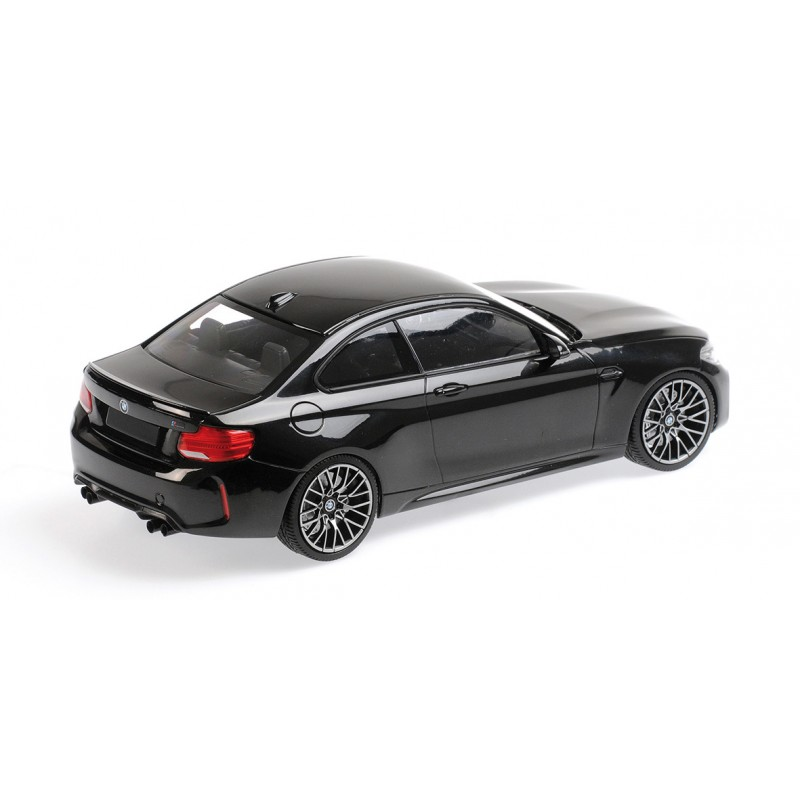 BMW M2 Competition 2019 Black Metallic Minichamps