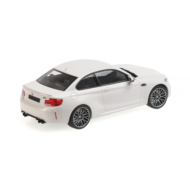 BMW M2 Competition 2019 White Minichamps 155028000