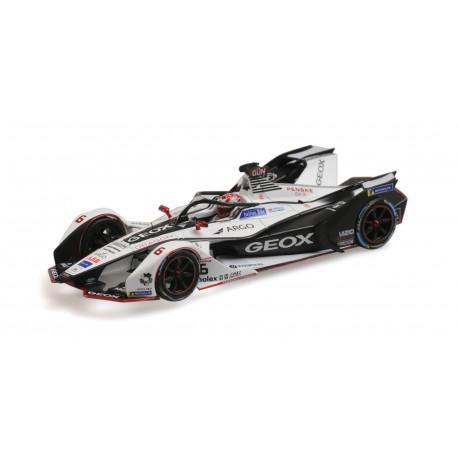 Geox Dragon 6 Formula E Season 5 2019 Max Guentehr Minichamps 414180006