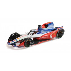 Mahindra Racing 64 Formula E Season 5 2019 Jerome d'Ambrosio Minichamps 414180064