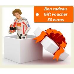 Bon cadeau de 50 euros