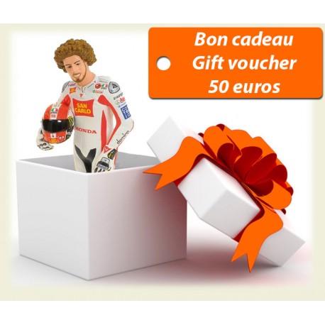 Gift coupon 50 euros