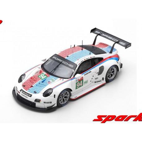 Porsche 911 RSR 94 24 Heures du Mans 2019 Spark S7939
