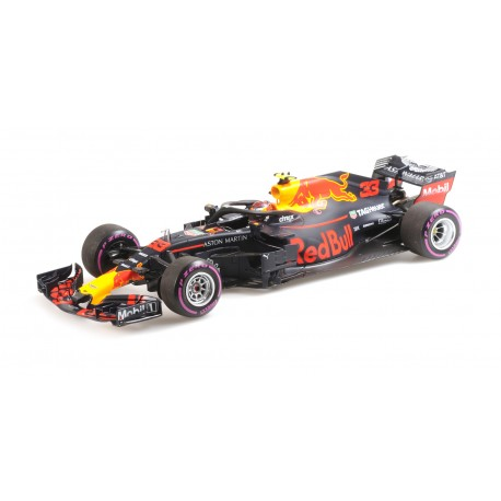 Aston Martin Red Bull Tag Heuer RB14 F1 Winner Mexique 2018 Max Verstappen Minichamps 110181933