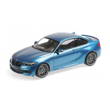 BMW M2 Competition 2019 Blue Metallic Minichamps 155028002