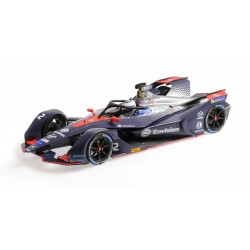 Envision Virgin Racing 2 Formula E Season 5 2019 Sam Bird Minichamps 114180002