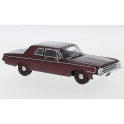 Dodge 330 Sedan 1964 Metallic Dark Red NEO NEO47223