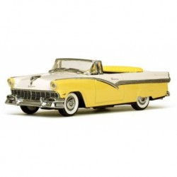 Ford Fairlane open convertible Goldenglow Yellow / Colonial White Vitesse VI36278