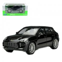 Porsche Macan Turbo Black Welly WEL24047black