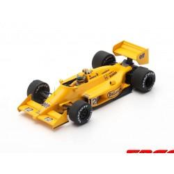 Lotus 99T 12 F1 Winner Monaco 1987 Ayrton Senna Spark S7131