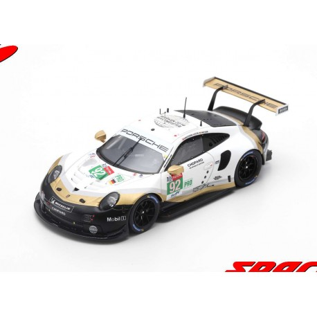Porsche 911 RSR 92 24 Heures du Mans 2019 Spark S7937