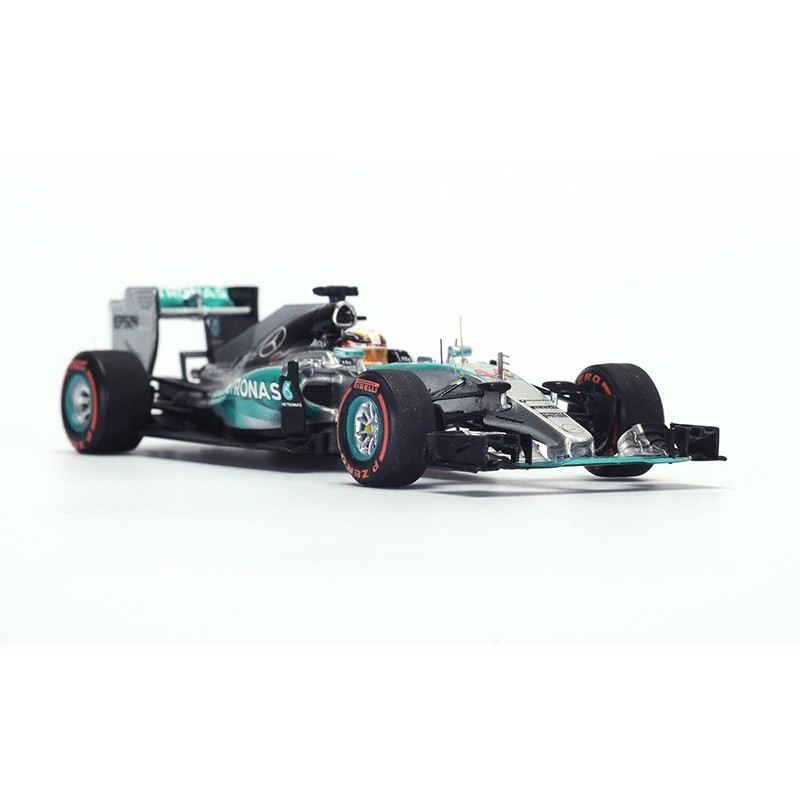 mercedes w06 hybrid f1 44 grand prix du japon 2015 lewis hamilton spark sj035 miniatures. Black Bedroom Furniture Sets. Home Design Ideas