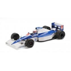 Tyrrell Ford 018 F1 6ème USA 1990 Satoru Nakajima Minichamps 110900003