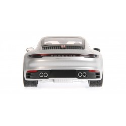 Porsche 911 Carrera 4S 2019 Silver Minichamps 155067322