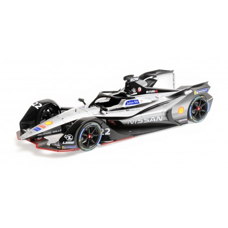 Nissan E.Dams 22 Formula E Season 5 2019 Oliver Rowland Minichamps 114180022