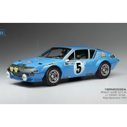 Alpine Renault A310 5 Rallye Monte Carlo 1975 Therier Vial IXO 18RMC036A