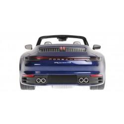 Porsche 911 Carrera 4S Cabriolet 2019 Blue Metallic Minichamps 155067332