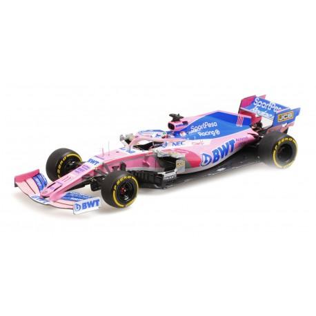 Racing Point Mercedes RP19 F1 2019 Sergio Perez Minichamps 417190011