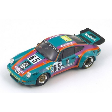Porsche 911 Carrera RSR 65 24 Heures du Mans 1975 Spark S3429