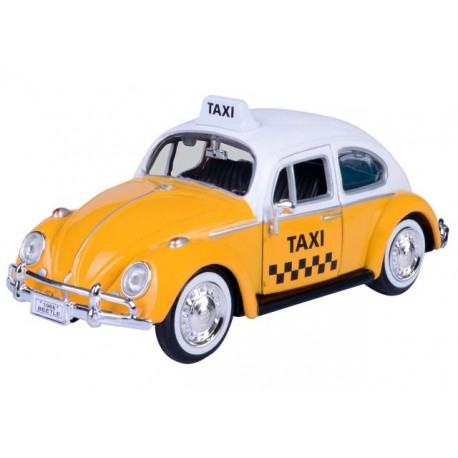Volkswagen Kafer Taxi Yellow White Motormax MOM79577Taxi