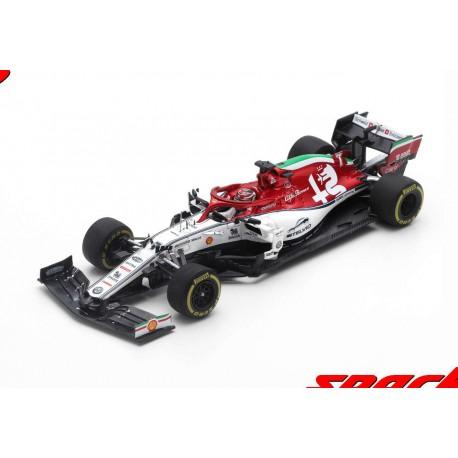 Alfa Romeo Sauber Ferrari C38 7 F1 Italie 2019 Kimi Raikkonen Spark S6097