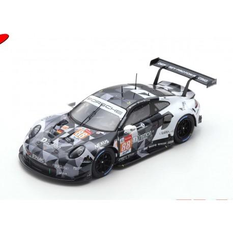 Porsche 911 RSR 88 Pole Position LMGTE Am Class 24 Heures du Mans 2019 Spark S7947