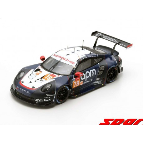 Porsche 911 RSR 78 24 Heures du Mans 2019 Spark S7944