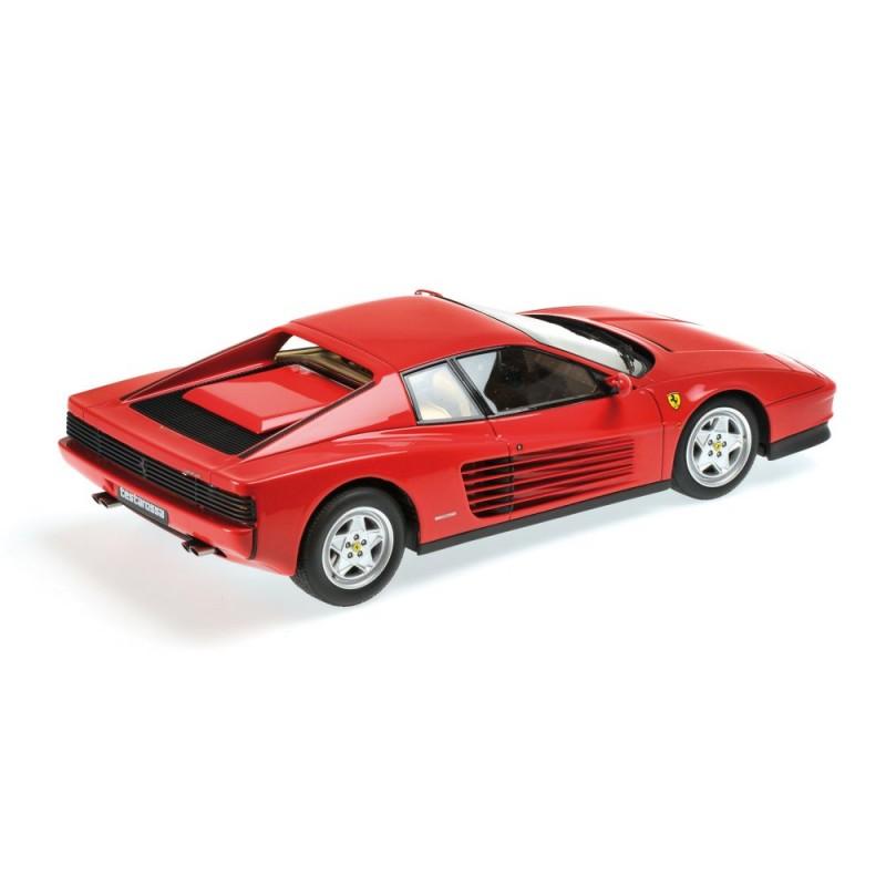 Ferrari Testarossa: Ferrari Testarossa Rouge 1984 Kyosho PHR1801R