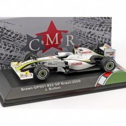 Brawn GP BGP 001 22 F1 World Champion 2009 Jenson Button CMR CMR43F1002
