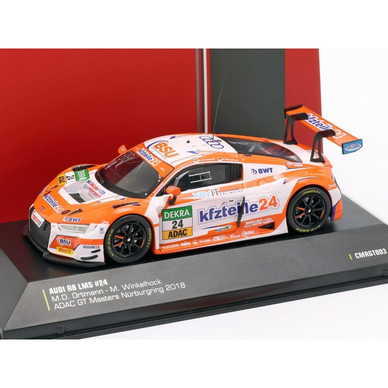1:43 CMR audi r8 LMS #24 ADAC GT Masters nurburgring