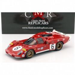 Ferrari 512S Long Tail 6 24 Heures du Mans 1970 CMR CMR028