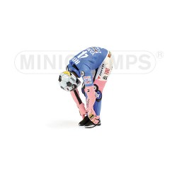 Figurine 1/12 Valentino Rossi Moto GP 2008 Stretching Minichamps 312080186