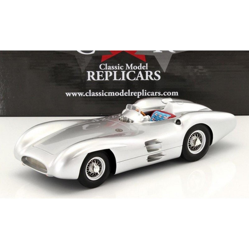 Mercedes Benz W 196 R Streamlined Racing Car 1955 silber silver metallic 1:43