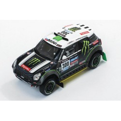 Mini All 4 Racing 300 Rallye Dakar 2014 Peterhansel Cottret IXO RAM577P