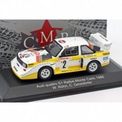 Audi Quattro 2 Rallye Monte Carlo 1986 Rohrl Geistdorfer CMR CMRWRC003