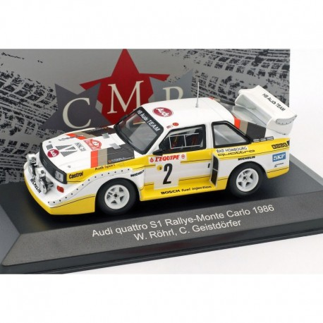 Audi Quattro night version 2 Rallye Monte Carlo 1986 Rohrl Geistdorfer CMR CMRWRC003B