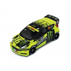 Ford Fiesta RS WRC 46 Monza Rally 2015 Valentino Rossi IXO RAM620