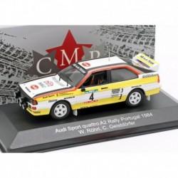 Audi Quattro A2 4 Rallye du Portugal 1984 Rohrl Geistdorfer CMR CMRWRC005
