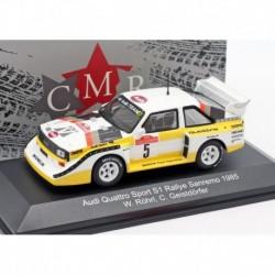 Audi Quattro 5 Rallye San Remo 1985 Rohrl Geistdorfer CMR CMRWRC007