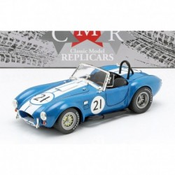 Shelby AC Cobra 427 Racing n21 1965 Blue CMR CMR115