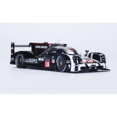 Porsche 919 Hybrid 18 24 Heures du Mans 2015 Spark 18S186