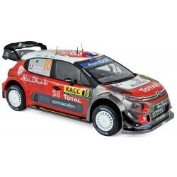 Citroen C3 WRC 10 Winner Rallye de Catalogne 2018 Loeb Elena Norev 181631