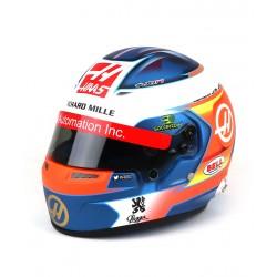 Casque Helmet 1/2 Romain Grosjean F1 2019 Bell