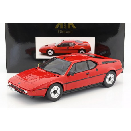 BMW M1 1978 Red KK Scale KKDC120011