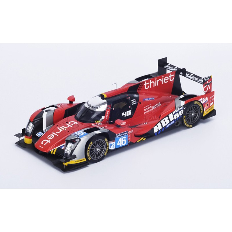 oreca 05 nissan 46 24 heures du mans 2015 spark 18s198 miniatures minichamps. Black Bedroom Furniture Sets. Home Design Ideas