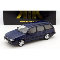 Volkswagen Passat B3 VR6 Variant 1988 Dark Blue Metallic KK Scale KKDC180073