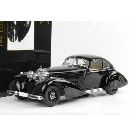 Mecedes 540k Autobahnkurier 1938 Black KK Scale KKDC180081