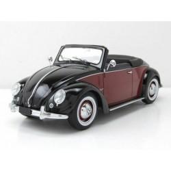 Volkswagen Cabrio Hebmueller 1949 Black Dark Red KK Scale KKDC180112